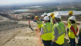 Los trabajos de emergencia en el vertedero de Abanilla permiten extraer cerca de 10.000 toneladas de lixiviados