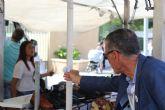 DEMOCRACIA PLURAL visita el mercado de Molina de Segura