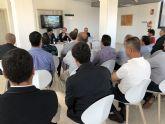 La Comunidad y el Ayuntamiento de Mazarr�n  colaboran en la promoci�n del municipio como destino de  inversiones