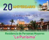 La Residencia 'La Purísima' cumple hoy 20 años desde su apertura consolidándose como un servicio público de atención integral a personas mayores