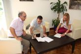 El Ayuntamiento de Alhama y Cruz Roja renuevan su convenio para la gesti�n de ayudas