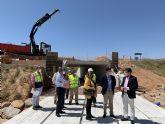 Las obras del nuevo paso peatonal entre Pozo Aledo y San Javier estarán listas en julio