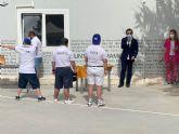 El Centro de Día Aidemar de San Pedro del Pinatar inaugura su nueva pista deportiva