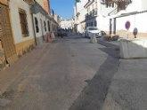 Finalizan las obras de renovación de la nueva tubería de saneamiento en las calle La Hoya y Luís Martínez González, respectivamente
