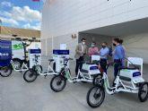 Torre Pacheco primer municipio de la Región con vehículos y herramientas de aplicación 100% eléctricos