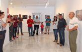 El artista lumbrerense Damián Sánchez expone su muestra 'Fragmentos' en la Casa de los Duendes
