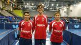 Meritorios resultados en los campeonatos de España de Tenis de Mesa y Atletismo