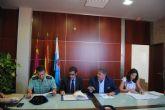 El delegado del Gobierno y el alcalde de Los Alcázares coordinan el dispositivo de seguridad de cara al verano