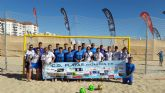 El Bala Azul FP se proclama subcampeón de la liga nacional de fútbol playa