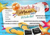 El Ayuntamiento de Campos del Río abre el plazo de inscripción para la Escuela y el Comedor Escolar de Verano