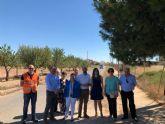 Los vecinos de Lobosillo contarán con una vía de acceso a la pedanía más ancha y segura