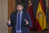 López Miras: 'El Gobierno de España falla y da la espalda al millón y medio de murcianos al no acometer la reforma del sistema de financiación'