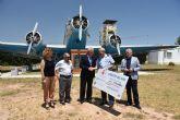 La Base Aérea de Alcantarilla consigue veinte mil sonrisas en una sola carrera