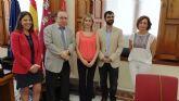La UMU estrecha la colaboración con Molina de Segura con la firma de un convenio de voluntariado universitario