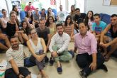 Jóvenes europeos realizan un intercambio en San Pedro en el que aprenden a gestionar su tiempo