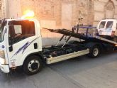 Se prorroga por un año el contrato del servicio municipal de retirada de vehículos de la vía pública
