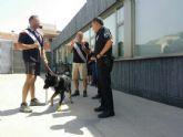 Polic�a Local incorpora un perro adiestrado para la detecci�n de drogas