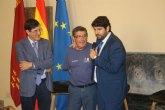 El presidente alaba el compromiso y trabajo de la Asociación Regional Murciana de Hemofilia