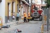 Las obras en la calle Juan XXIII procurarán mejorar la accesibilidad y dinamizar el ambiente comercial de esta vía