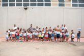 80 alumnos completan su formaci�n en el primer curso de nataci�n municipal