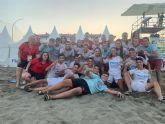 Las selecciones de fútbol playa cadete y femenino absoluto jugarán la final de nacional