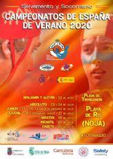La participación en los Campeonatos de España de Verano de Salvamento y Socorrismo se acerca a los 700 socorristas