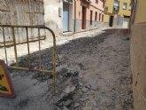 Saorín: 'Comienzan las obras de remodelación en cuatro nuevas calles'