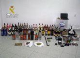 La Guardia Civil esclarece varios robos en viviendas y comercios de Alhama de Murcia cometidos durante el confinamiento