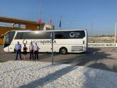 El autobús ya llega a la cárcel de Campos del Río