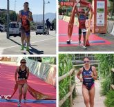 El triatlón murciano recoge buenos resultados en el primer clasificatorio para el Campeonato de Espana de Triatlón de distancia Olímpica