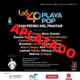 San Pedro del Pinatar aplaza el concierto de Los 40 Playa Pop ante el aumento de la incidencia del COVID19
