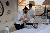 Maria Gómez, del restaurante Magoga, crea un plato en homenaje a los hosteleros de Fuente Álamo
