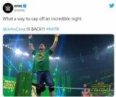 Ya es oficial: !John Cena vuelve al ring de la WWE!