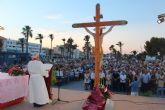 Lo Pagán celebra la misa en honor al Cristo del Mar Menor