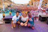 Más de 1.800 personas disfrutan con la Spume Run en Puerto de Mazarrón