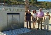 Los agricultores de Pliego reutilizarán el agua tratada con un sistema terciario en la depuradora del municipio