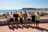 Mazarrón habilita el primer canal de nado en aguas abiertas de la Región de Murcia