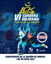 Abiertas inscripciones para la VI Carrera Puerto de Cartagena 10KCPC - Cto. Regional 10K en Ruta 2021