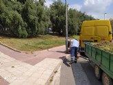 Brigada municipal: trabajos del 20 de agosto