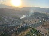 Conato de incendio forestal en Barinas (Abanilla)