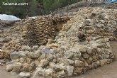 Cultura insta al Ayuntamiento de Totana a que realice obras de emergencia en el yacimiento de La Bastida para garantizar su conservaci�n