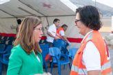 El Ayuntamiento coordina todos los servicios municipales para atender a los 154 inmigrantes llegados esta madrugada