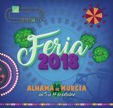 Programa de Feria y Fiestas de Alhama de Murcia 2018. Del 5 al 14 de octubre