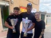 Deportes felicita al totanero Juan Cánovas Miras tras proclamarse Campeón del Mundo de Pesca individual y por equipos