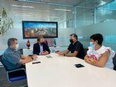 El Alcalde recibe a los nuevos Vicarios Parroquiales deTorre Pacheco