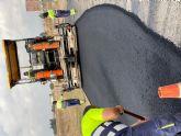 Remodelación de la carretera de servicio junto rotonda del Radar