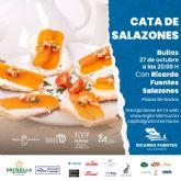 La Región de Murcia, Capital espanola de la Gastronomía 2021, llegará a Bullas con una cata de salazones
