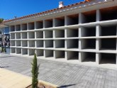 Finalizan las obras de construcci�n de 40 nuevos nichos en el Cementerio Municipal �Nuestra Se�ora del Carmen�