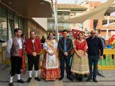 La huerta murciana se trasladó a la plaza de España en el inicio de las fiestas patronales de San Javier
