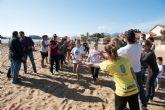 M�s de un centenar de participantes en la segunda jornada de la liga de v�ley playa